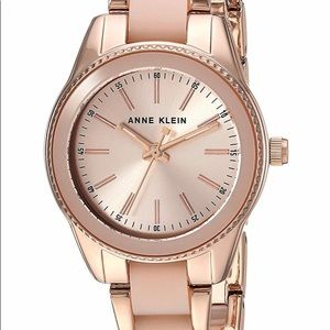 Anne Klein Rose Gold Women's watch, used